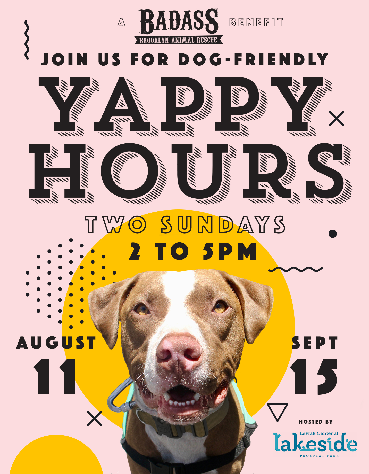 Yappy Hours Flyer