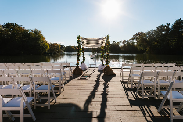 If an outdoor ceremony is what you imagine, then our Lakeside Waterfront is perfect setting for an intimate wedding.  Lakeside Waterfront is located along the edge of the lake that overlooks the lake with breathtaking views. This is a beautifully landscaped area with natural stone walls and benches.  The view of the sunset is impeccable and can seat up to 100 ceremony guests.