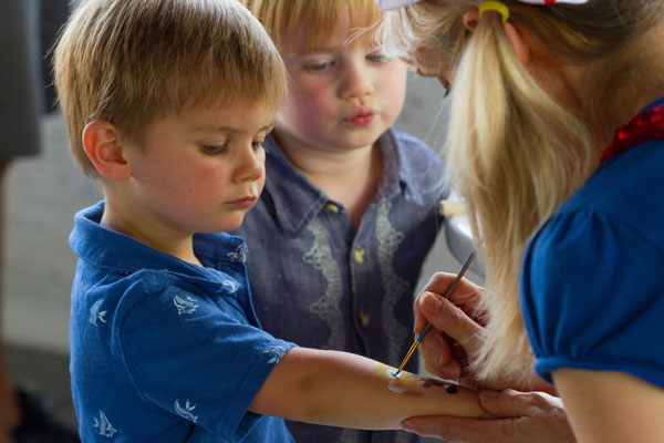 Face Painter - Our talented face painters are a great way to keep the young ones entertained and are also a great addition to any event with children.