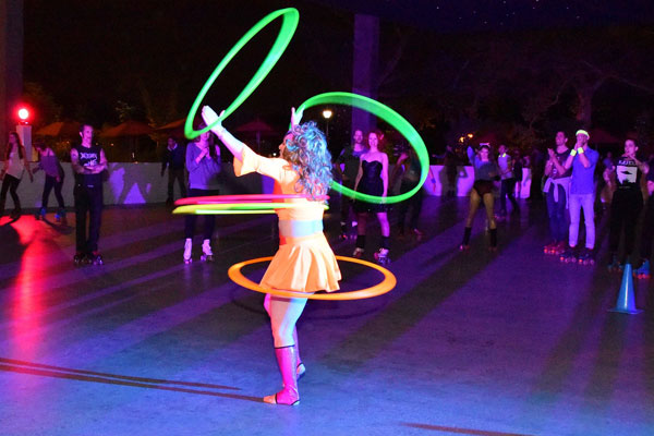 Roller Disco Performance - If you're looking to have rink entertainment, then our Roller Disco performers are just the touch.  They can teach you the collest moves or perform with a group to give your event the perfect finale!