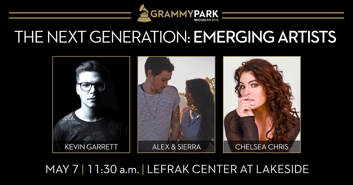 GRAMMY Park Presents Emerging Artists at the LeFrak Center at Lakeside.
