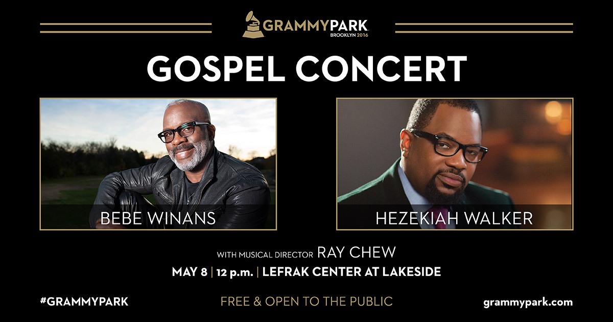 Gospel Brunch with Bebe Winans and Hezekiah Walker at Lakeside