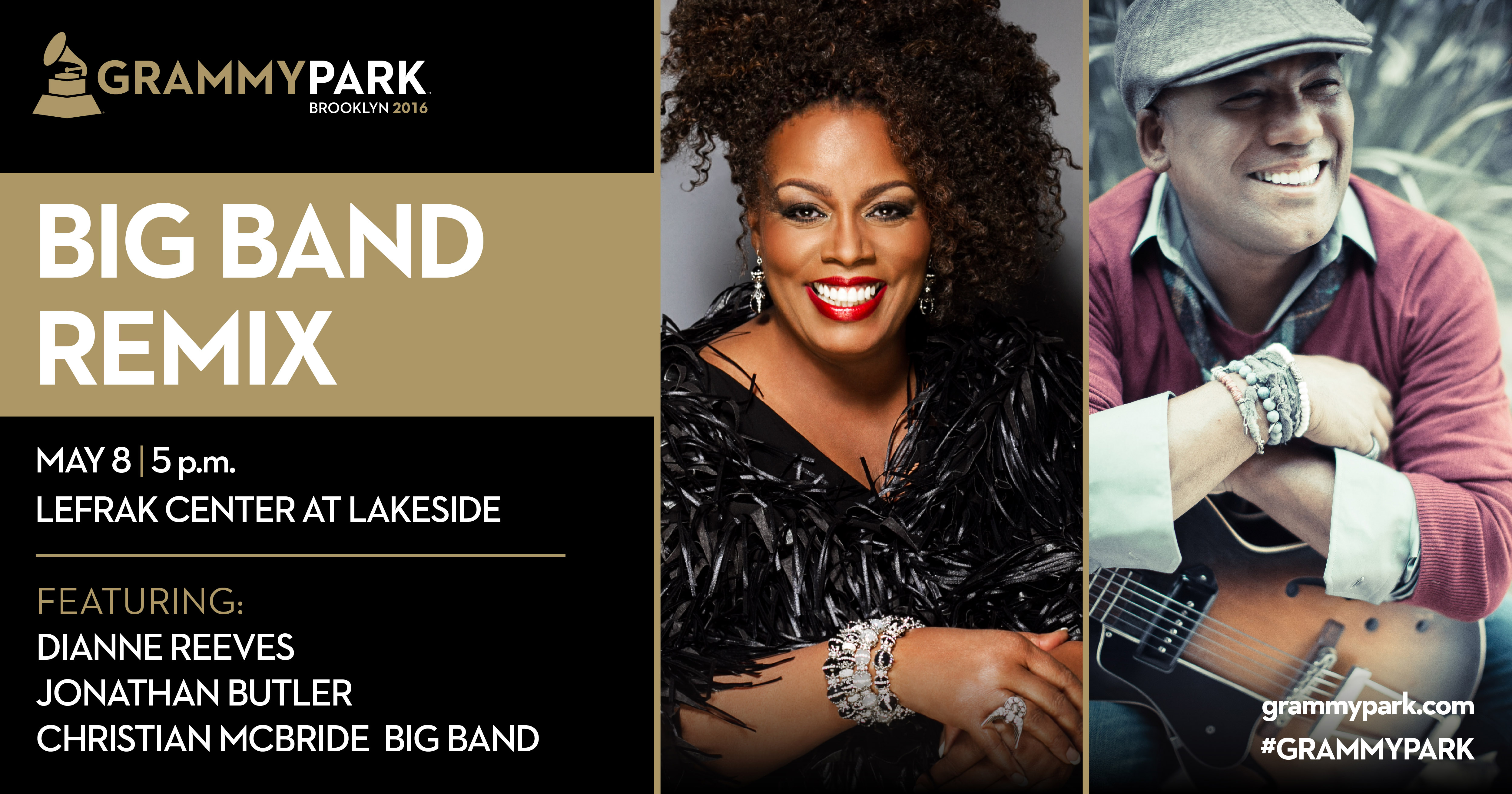 GRAMMY Park Presents Big Band Remix at Lakeside, featuring Dianne Reeves