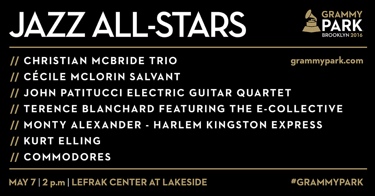 GRAMMY Park Presents Jazz All Stars at Lakeside